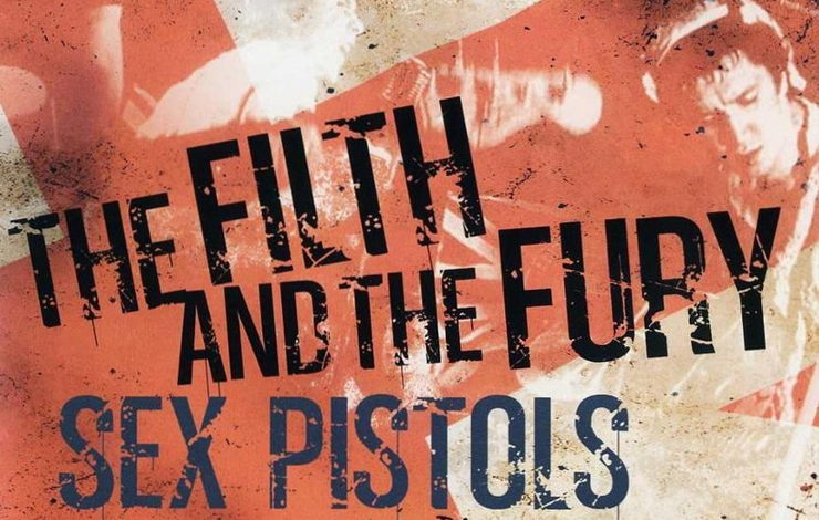 From Julien Temple's <em>The Filth and the Fury</em>, which chronicles the rise and fall of the legendary punk music band The Sex Pistols