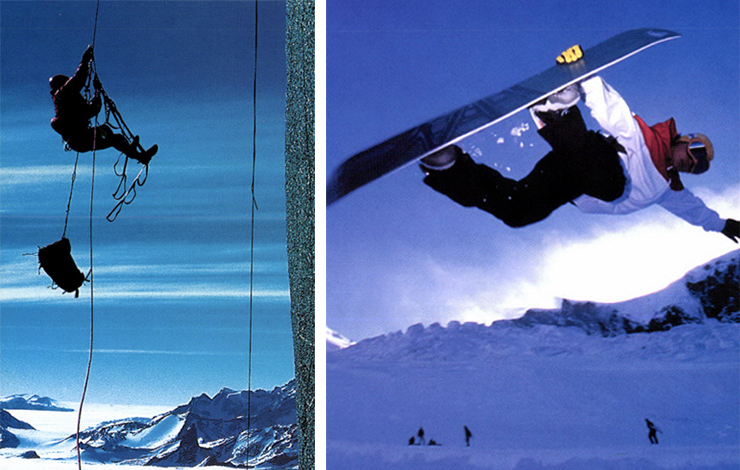Left: WME catching repelling in the extreme.