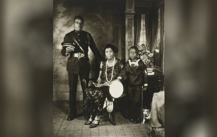 A Garveyite family from <em>American Experience: Marcus Garvey—Look for Me in the Whirlwind. Photo: James VanDerZee; courtesy of PBS