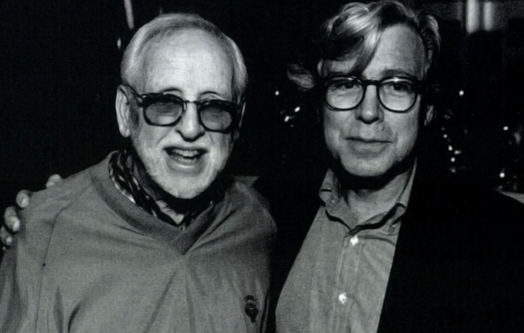 David Wolper (left) and Robert Guenette.
