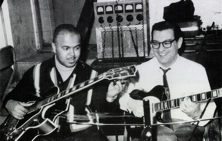 From Paul Justman's <em> Standing in the Shadows of Motown</em>, distributed by Artisan Entertainment. Courtesy of the Funk Brothers and Artisan Entertainment.