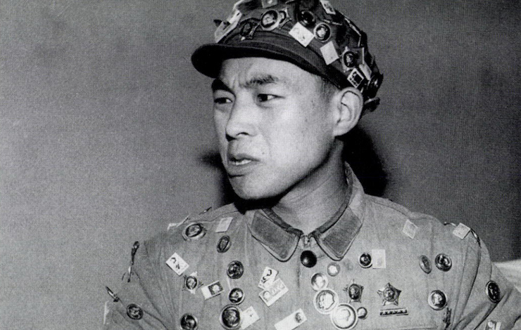 A People's Liberation Army soldier during China's Cultural Revolution, from Carma Hinton and Richard Gordon's 'Morning Sun.' Courtesy of Nora Chang.