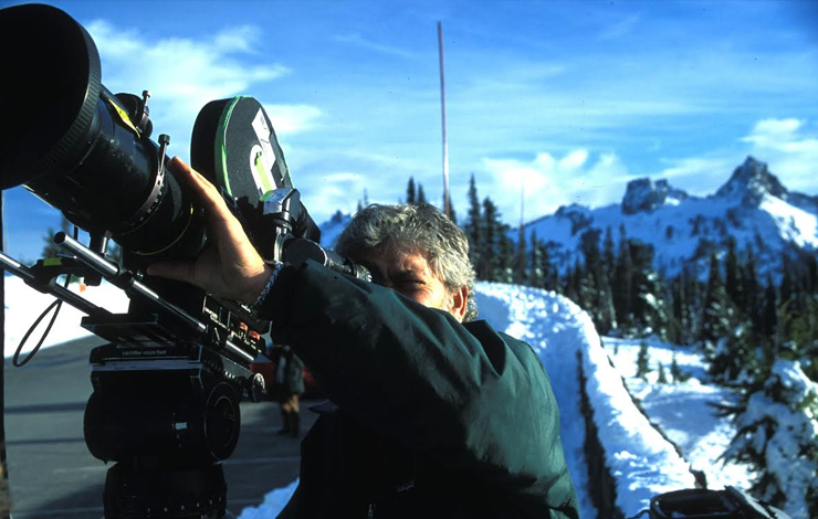 Louis Schwartzberg, cinematographer/director/producer of 'America's Heart and Soul'. Photo: J.C. Earle (c) Blacklight Films