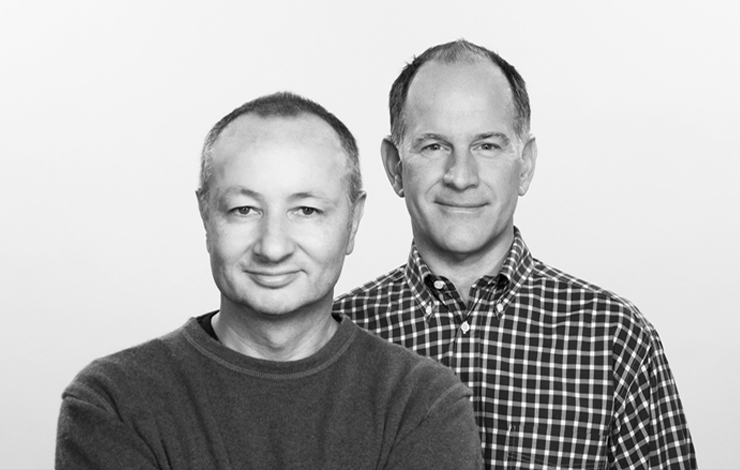 Fenton Bailey, left, and Randy Barbato, founders of the Hollywood and Londond-based production company World of Wonder.
