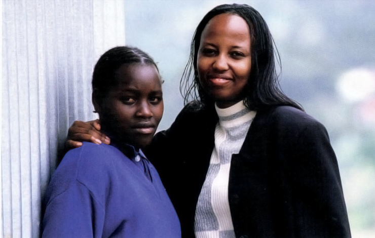 Simalo (left) and N'Daisi, featured in Kim Longinotto's 'The Day I Will Never Forget.' Courtesy of HBO.