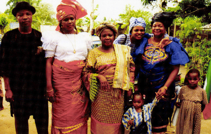Members of the family of Israel and Ngozi Nwidor. From <em>The New Amerians</em>, airing on PBS in late March. Courtesy of Kartemquin Educational Films/ITVS.