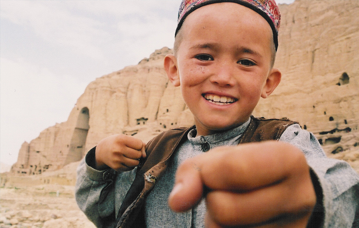 Mir Hussein, subject of Phil Grabsky's 'The Boy Who Plays on The Buddhas of Bamiyan'. Photo: Phil Grabsky
