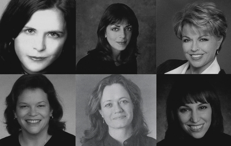 Doyennes of Doc-TV: Alison Palmer Bourke, Nancy Abraham, Pat Mitchell, Paola Freccero, Cara Mertes and Lauren Lazin