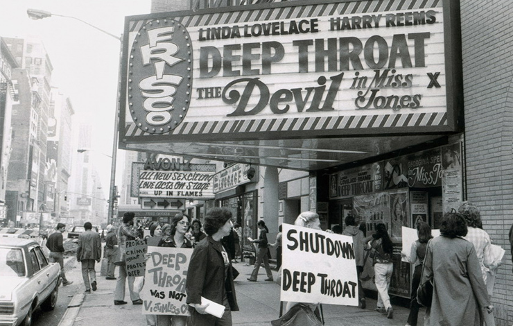 'Inside Deep Throat' examines the lasting cultural impact generated by 1972's 'Deep Throat,' the sexually explicit film that quickly became the flashpoint for an unprecedented social and political firestorm. Photo: AP Wide World Photos/Universal Studios.
