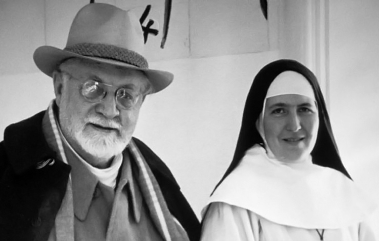 Painter Henri Matisse and Sister Jacques, subject of Barbara Freed's 'A Model for Matisse.'