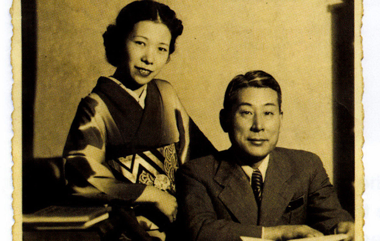 Chiune Sugihara (right) wlth his wife, Yukiko. From 'Sugihara Conspiracy Of Kindness,' which airs on PBS on May 5. Courtesy of diane estelle Vicari