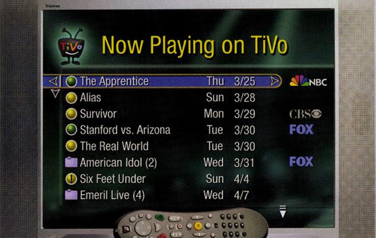 TiVo's new Tahiti software, which allows viewers to get their programs from both cable and online sources.