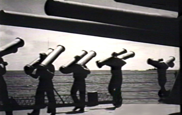 US sailors with munitions during World War II. From Eugene Jarecki's 'Why We Fight,' which won the Seeds of War Award at the Full Frame Documentary Festival. Photo: Charlotte Street Films