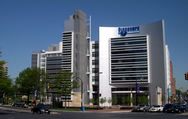 Discovery Communications Inc.'s headquarters in Silver Spring, Maryland