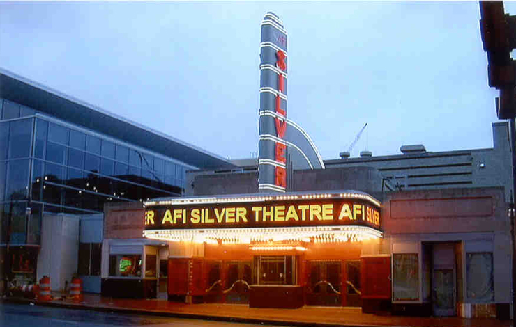 The AFI Silver Theatre in Silver Spring, Maryland, home base of the AFI Silverdocs Documentary Festival