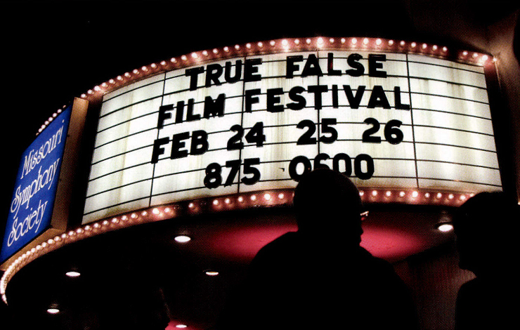 The 1200-seat Missouri Theatre hosted several roll-outs throughout the weekend at the True/False Film Festival, including the opening night film, 'The Heart of the Game.' Courtesy of True/False