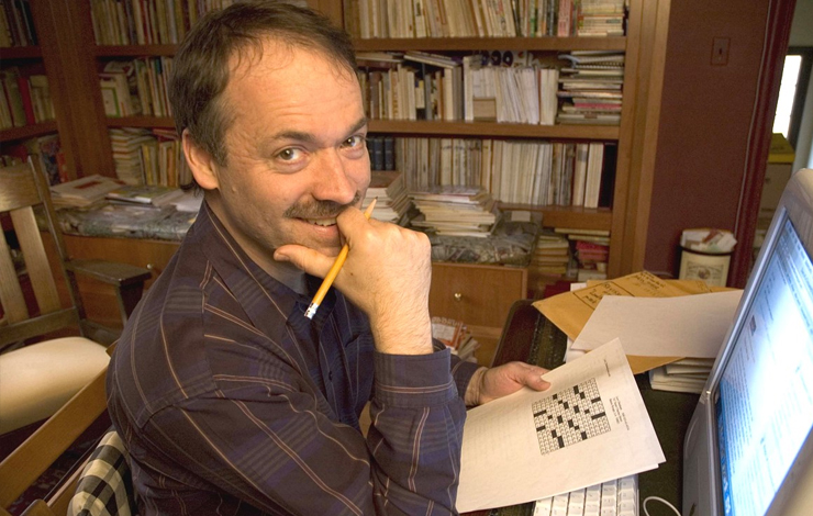 New York Times Crossword Puzzle Editor Will Shortz, subject of Patrick Creadon's 'Wordplay.' Courtesy of IFC Films and The Weinstein Company