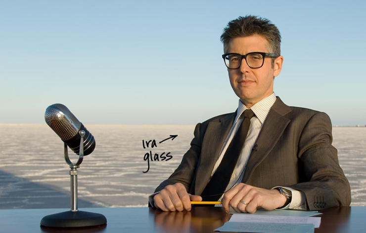 From Ira Glass' <em>This American Life</em>