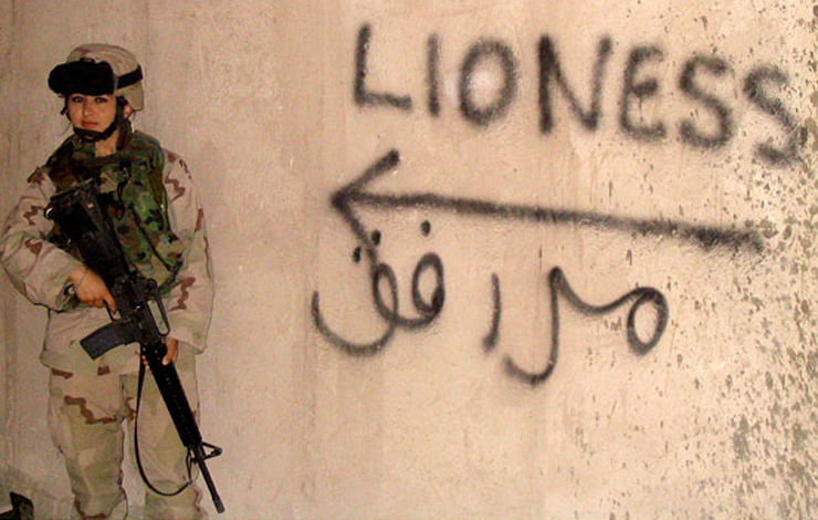 'Lioness', about female support soldiers ending up on the front lines of the Iraq war