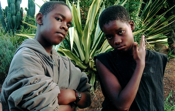 From Heidi Ewing and Rachel Grady's 2005 film <em>The Boys from Baraka</em>. Courtesy of Loki Films