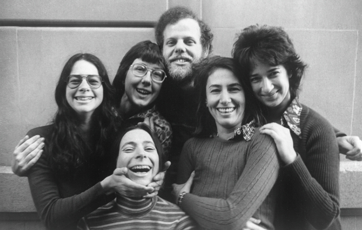 The founding members of New Day Films, 1973