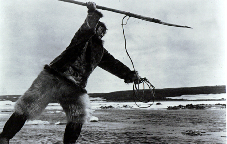 From Robert Flaherty's 1924 film <em>Nanook of the North</em>