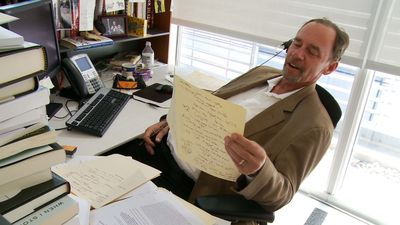 Journalist David Carr. Courtesy of Magnolia Pictures