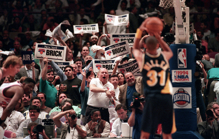From Winning Time: Reggie Miller vs. The New York Knicks