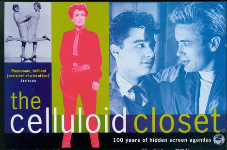 Artwork from Jeffrey Friedman and Robert Epstein's The Celluloid Closet, written by Sharon Wood. Courtesy of Telling Pictures