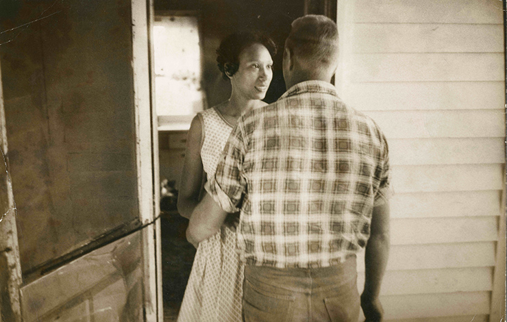 Mildred and Richard Loving, subjects of Nancy Buirski's <em>The Loving Story</em>. Courtesy of HBO
