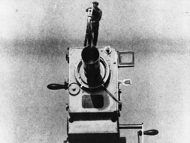 From Dziga Vertov's <em>Man with a Movie Camera</em>