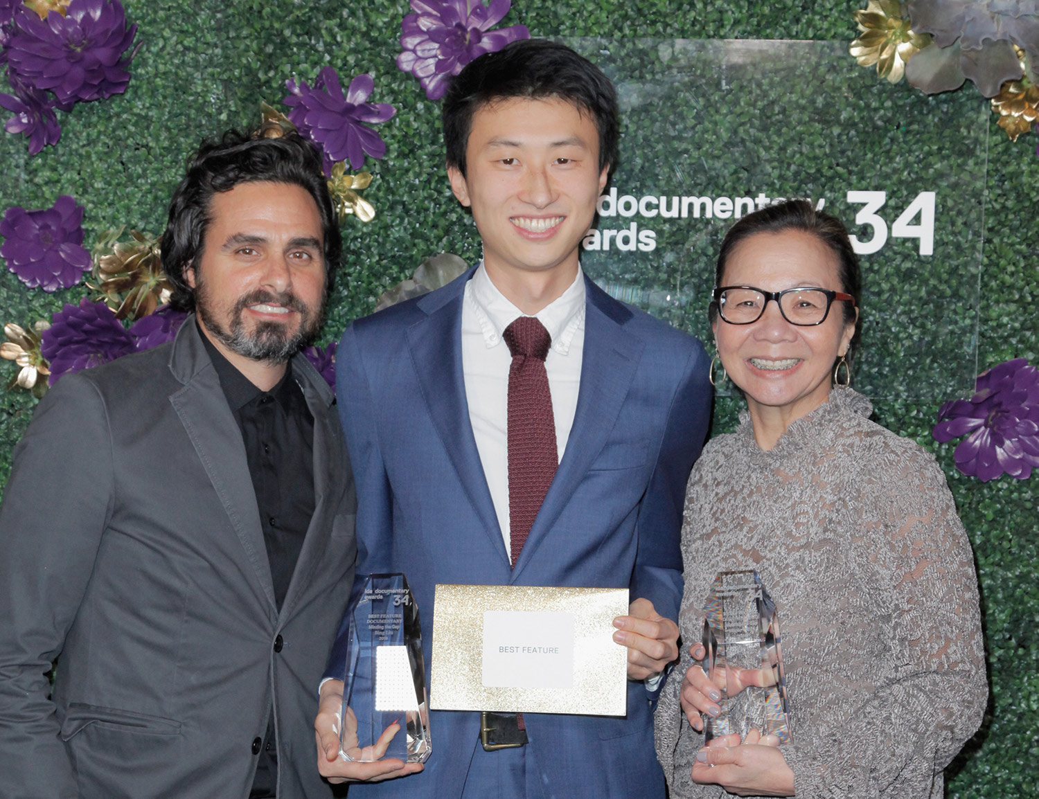 Filmmaker Bing Liu, who won both Emerging Filmmaker and Best Feature Award at the 2018 Documentary Awards