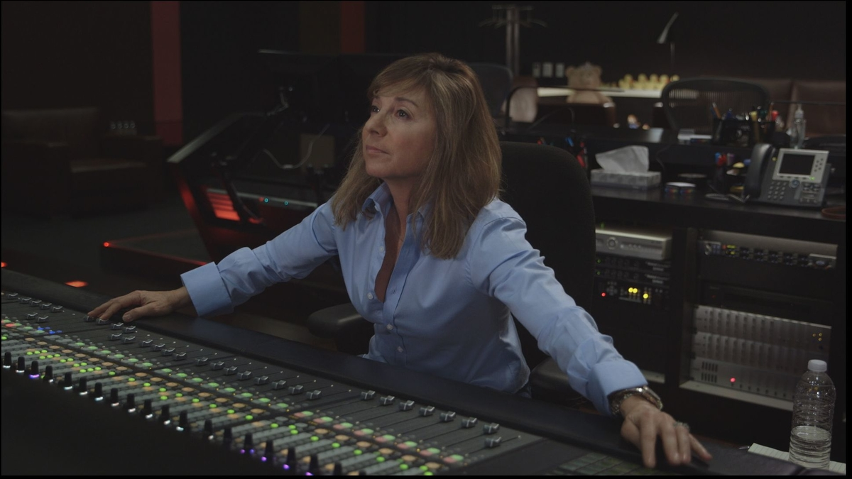 Sound editor Anna Behlmer at mix console. From Midge Costin's 'Making Waves: The Art of Cinematic Sound.'