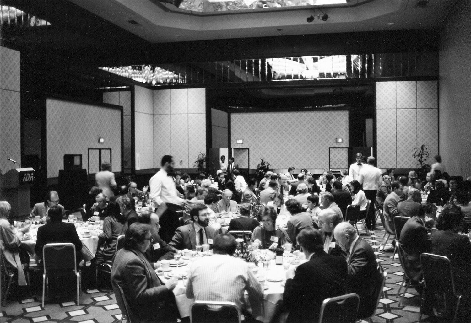 The inaugural IDA Documentary Awards luncheon at the Sheraton Premiere hotel in Universal City, Calif., in November 1985