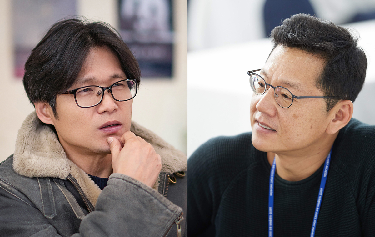 Director Yi Seung-jin (left) and Producer Gary Byung-seok Kam. Courtesy of 'Field of Vision.'