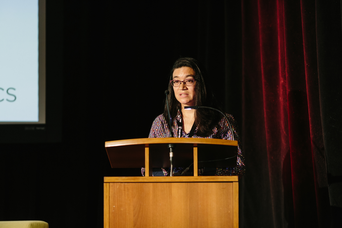 Lisa Valencia-Svensson. Photo: Gabriel Li. Courtesy of Hot Docs