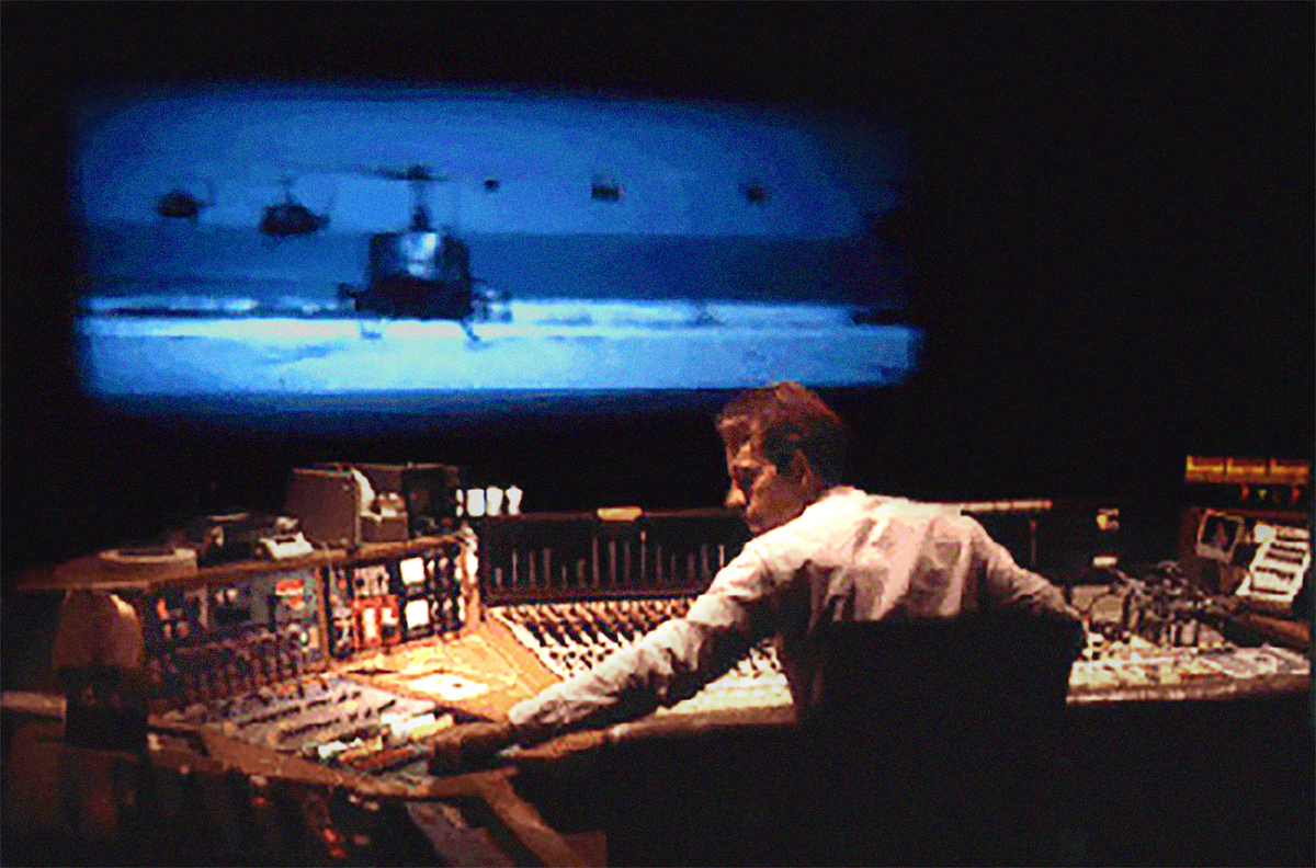 Walter Murch mixing 'Apocalypse Now.' From Midge Costin's 'Making Waves: The Art of Cinematic Sound.'