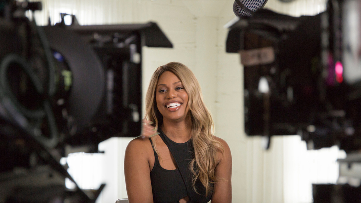 Laverne Cox, from Sam Feder's 'Disclosure.' Courtesy of Netflix