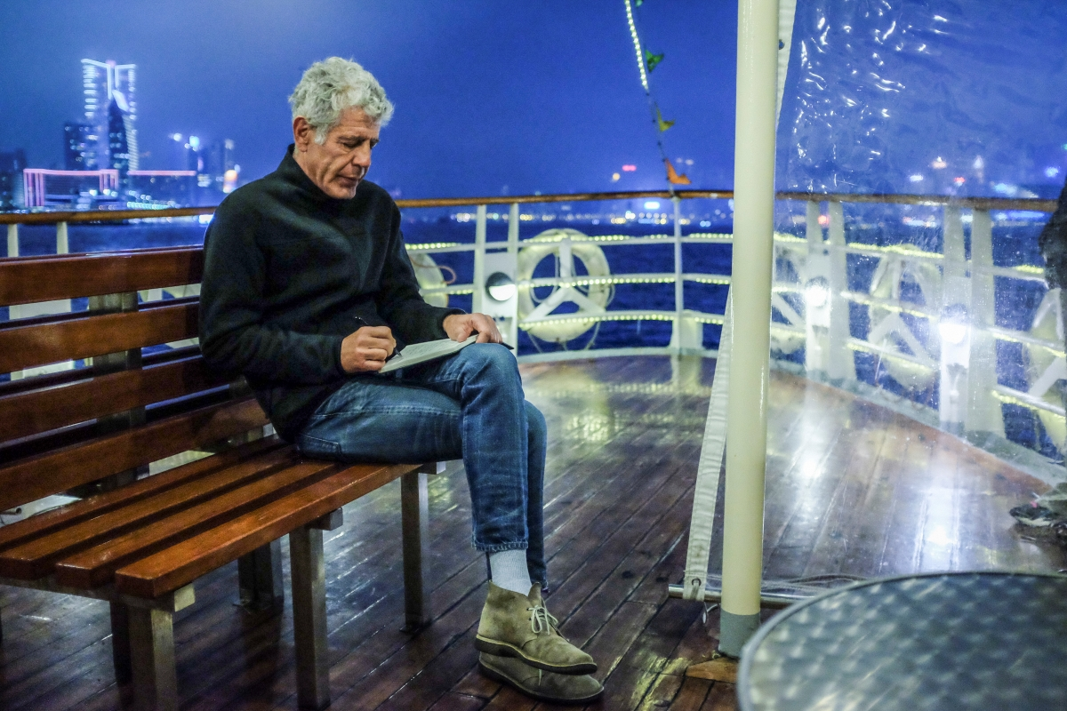 Anthony Bourdain, subject of a forthcoming documentary by Morgan Neville that will stream on HBO Max. Courtesy of CNN