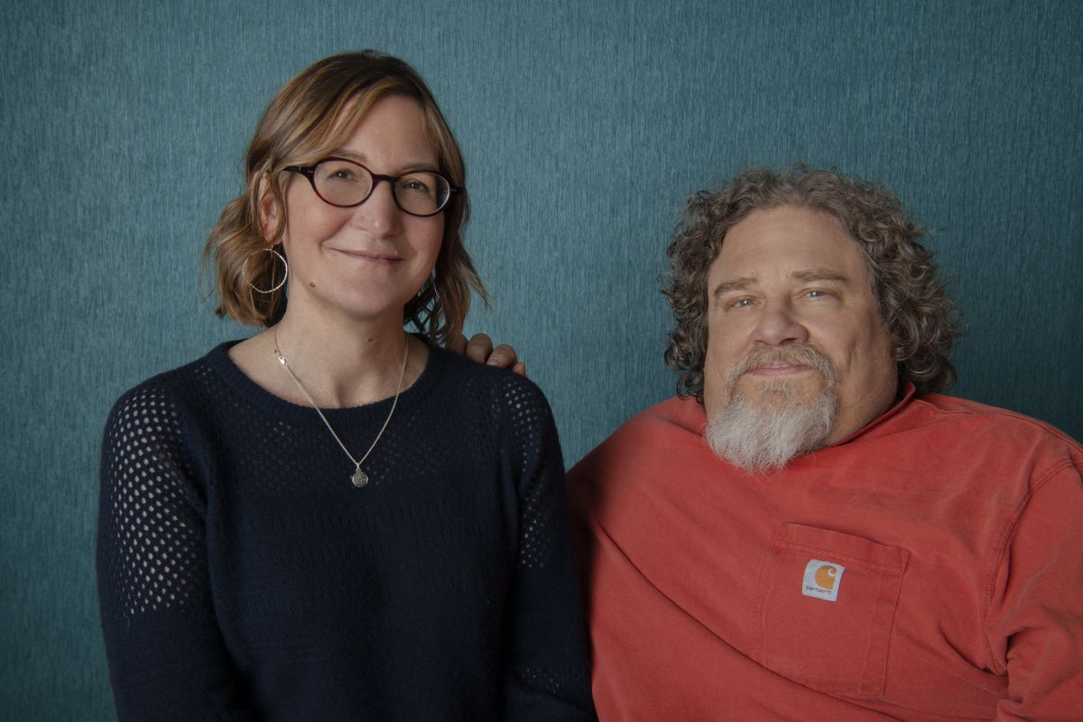 Nicole Newnham and Jim Lebrecht, makers of 'Crip Camp.' Courtesy of Netflix