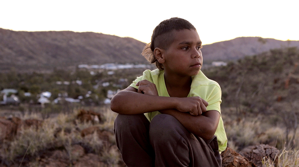 From 'In My Blood It Runs,' Dujuan in Mparntwe (Alice Springs). Photo by Maya Newell. Courtesy of Closer Productions