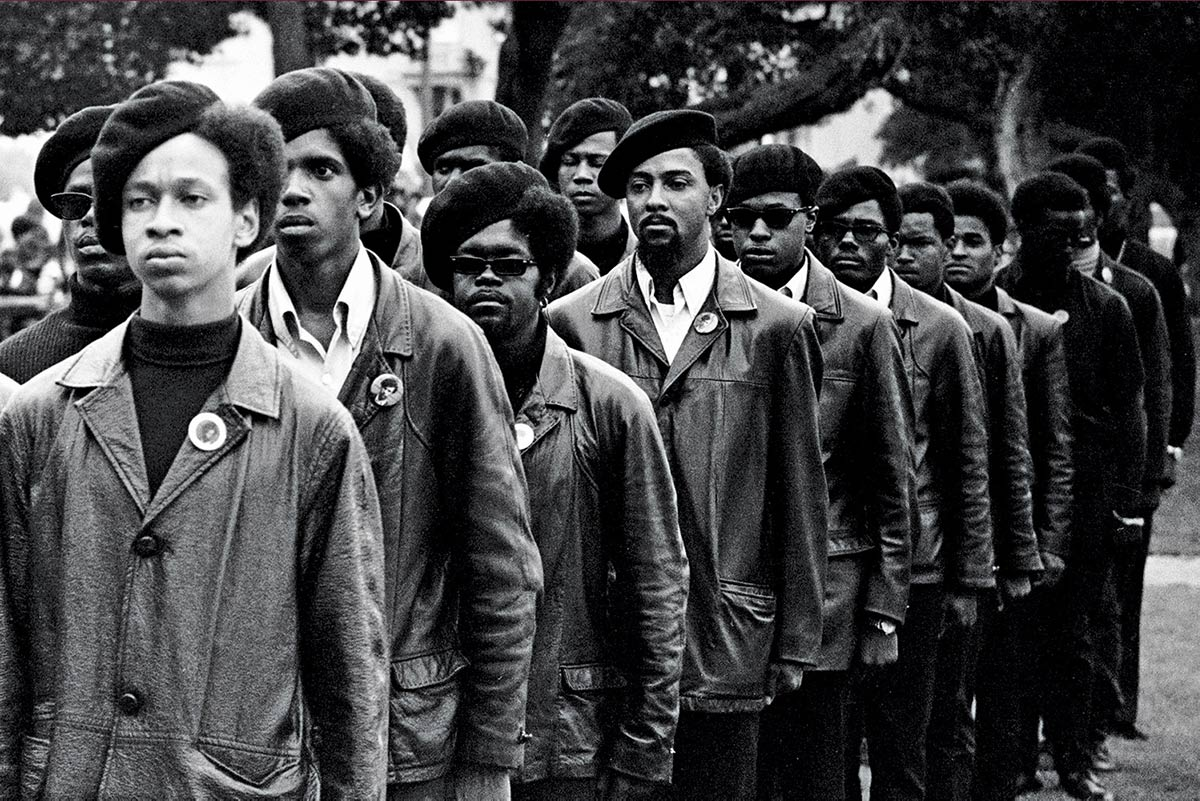 From Stanley Nelson's 2015 film The Black Panthers: Vanguard of the Revolution. Photo courtesy of Stephen Shames