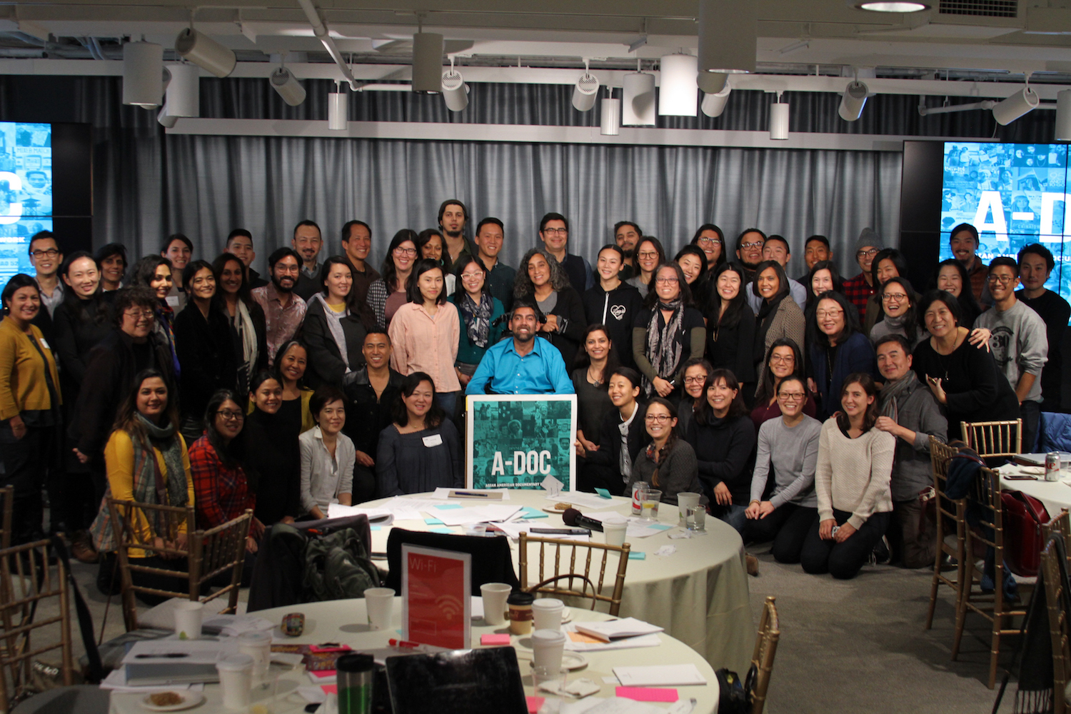 A-Doc members at the 2017 A-Doc working meeting hosted at the Ford Foundation. Photo courtesy of A-Doc.