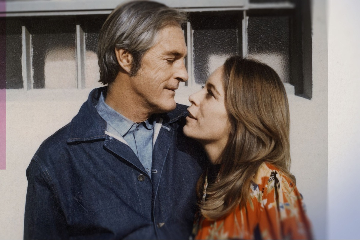 Timothy Leary and Joanna Harcourt-Smith, protagonists in Errol Morris' 'My Psychedelic LOve Story.' Courtesy of Showtime Documentary Films