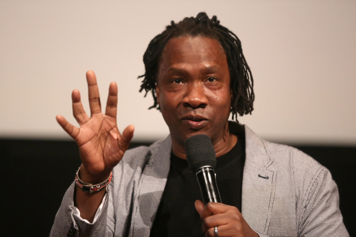 Filmmaker Roger Ross Williams, participating in an IDA Conversation Series in 2016. Photo: Laura Ahmed