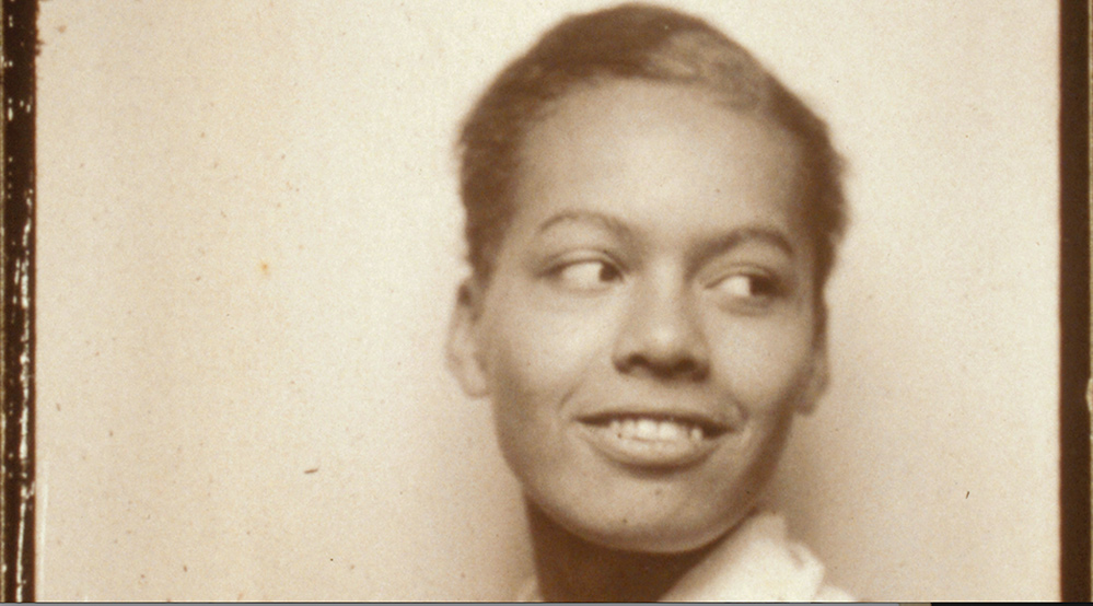 A sepia portrait of a young Black woman. Pauli Murray, from 'My Name is Pauli Murray,' directed by Julie Cohen and Betsy West. Courtesy of Amazon Studios.