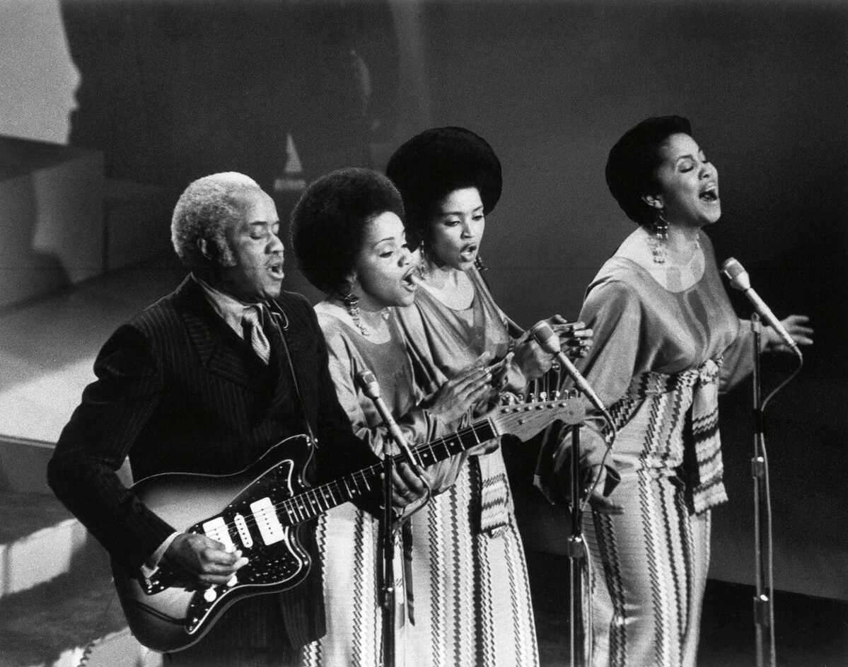 The Staple Singers, from ,1971: The Year That Music Changed Everything' (Asif Kapadia, Danielle Peck, James Rogan; dirs)