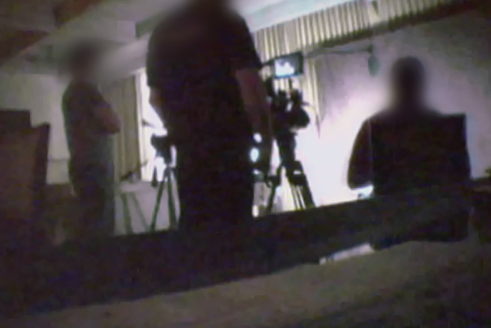 FBI footage of Amman Bundy, featured in Abby Ellis' FRONTLINE documentary 'American Patriot: Inside the Armed Uprising Against the Federal Government.' Courtesy of FRONTLINE