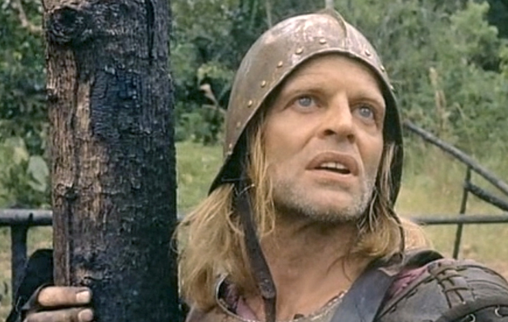 Klaus Kinski in Aguirre, Wrath of God, from My Best Fiend.