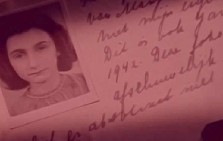 From Jon Blair's <em>Anne Frank Remembered</em>